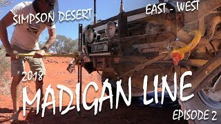 Simpson Desert Madigan Line by 4wd [2018] incl. History EP 2 | ALLOFFROAD #152