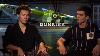 Interview with Harry Styles and Fionn Whitehead for Dunkirk