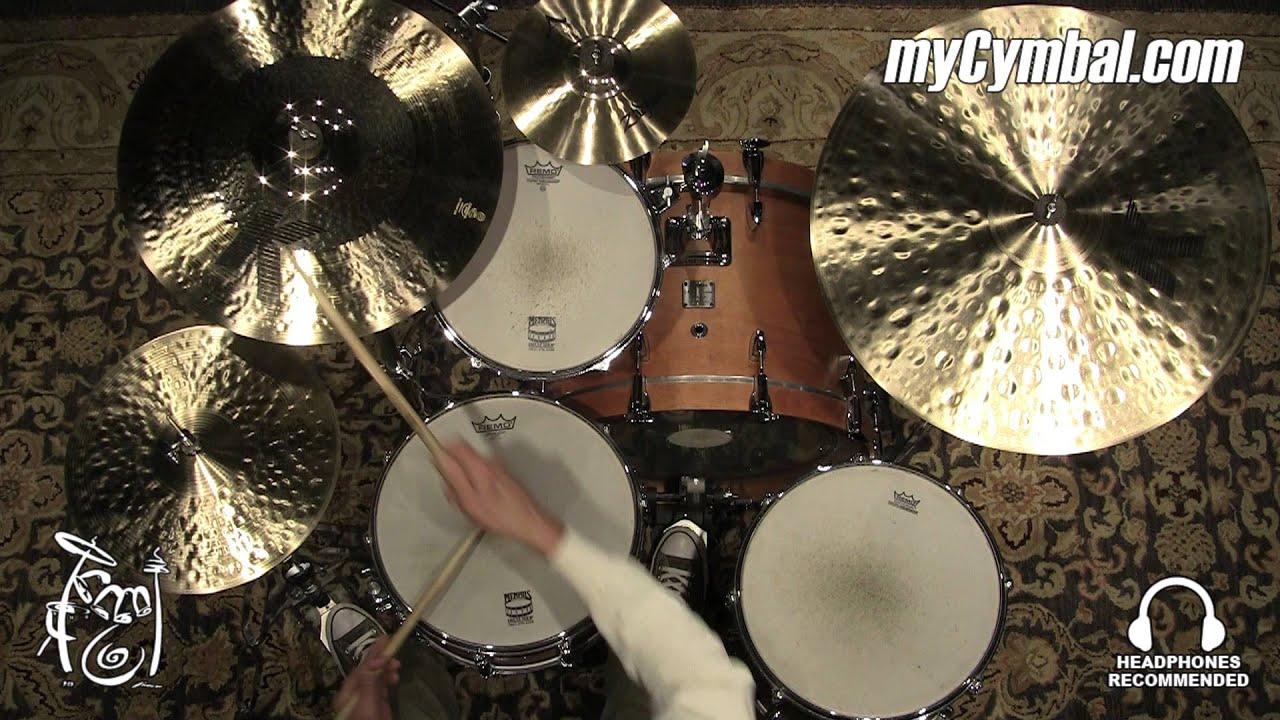 Zildjian 19 K Custom Hybrid Crash Cymbal Played By Tom Lonardo 1706g K1219 1121815x