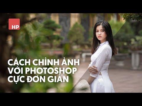 Cách chỉnh ảnh bằng photoshop đơn giản | #HPphotoshop