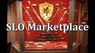 SLO Marketplace - Pirate Crossed Pistol Sword