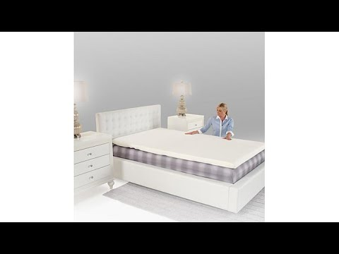 Perfect Pressure Adjustable Mattress Topper  Twin