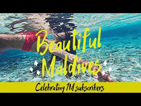 Celebrating 1M Subscribers On Youtube With Beautiful Maldives Vlog