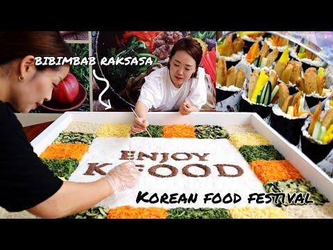 KOREAN FOOD FESTIVAL - Pekan Raya Jakarta (PRJ) 2018!