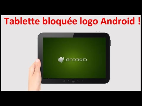 tablette bloqu e au d marrage logo andro d ou cran noir youtube. Black Bedroom Furniture Sets. Home Design Ideas