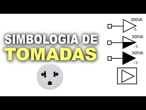 Simbologia de tomadas em diagramas elétricos