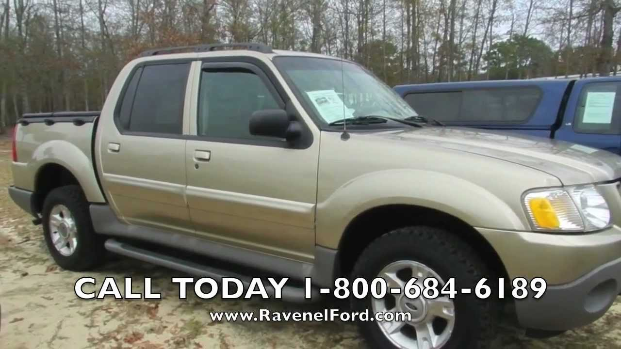 2003 ford explorer sport trac review xlt premium 4x4 for sale ravenel ford charleston youtube