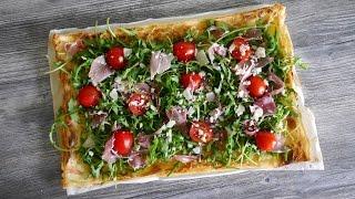 Оригинальный рецепт пиццы  ||  Пицца прошутто  ||  Pizza prosciutto  || Итальянская кухня