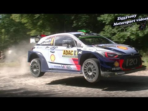 WRC Deutschland Rally 2017 full attack,crashes,show&mistakes