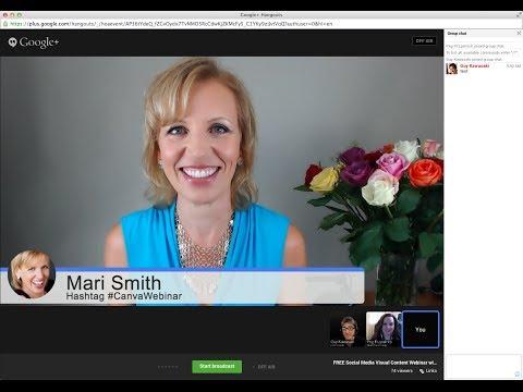 FREE Social Media Visual Content Webinar with Guy Kawasaki, Peg Fitzpatrick & Mari Smith!