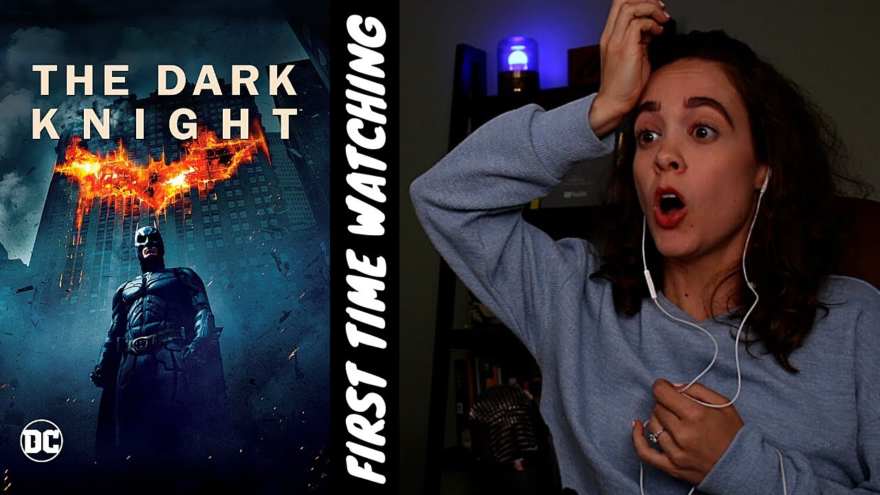 FIRST TIME WATCHING *THE DARK KNIGHT* (and it blew my mind...)