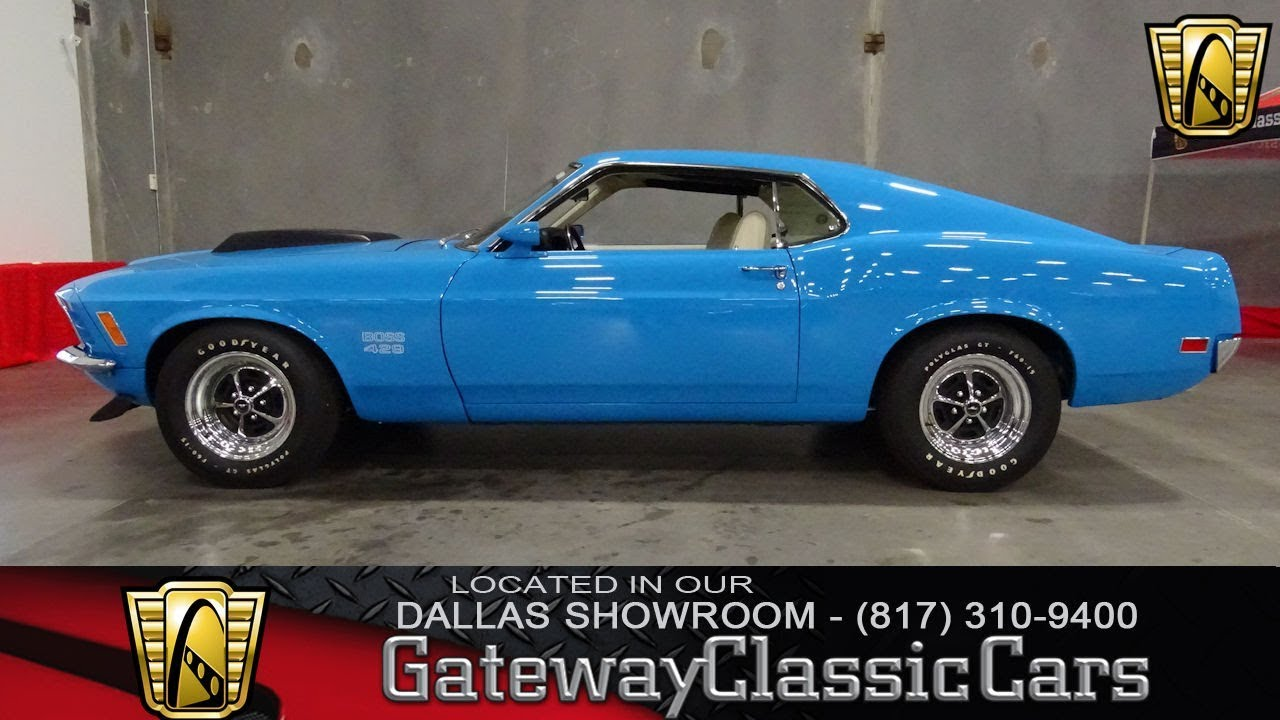 1970 Ford Mustang Boss 429   #600-DFW Gateway Classic Cars of ...