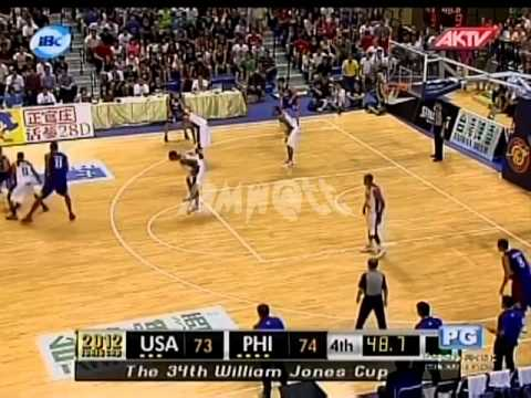 2012 JONES CUP Gold Medal Match | Pilipinas Vs USA part 7