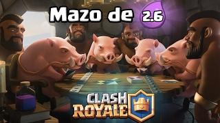 ¡MAZO DE 2,6 PARA CICLAR EL MONTAPUERCOS! | Legendario sin Legendarias # | Clash Royale TheAlvaro845