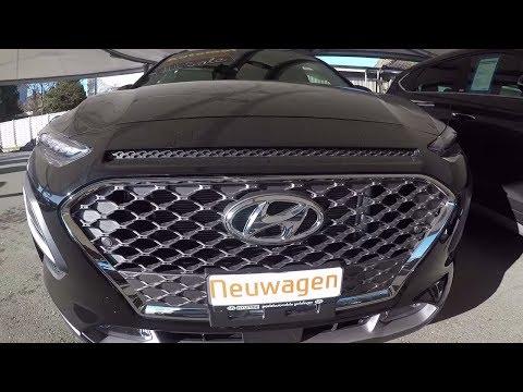 Hyundai Kona Full OPTION 2018 Review Interior Exterior