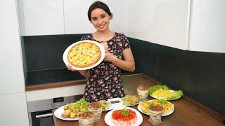 Праздничный стол на День Рождения! КРАСИВЫЕ ОЧЕНЬ вкусные блюда на праздник! Меню на День Рождения