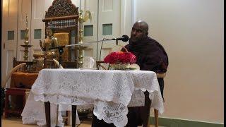 Ven Galigamuwe Gnanadeepa Thero, London Buddhist Vihara, Chiswick 05.10.14