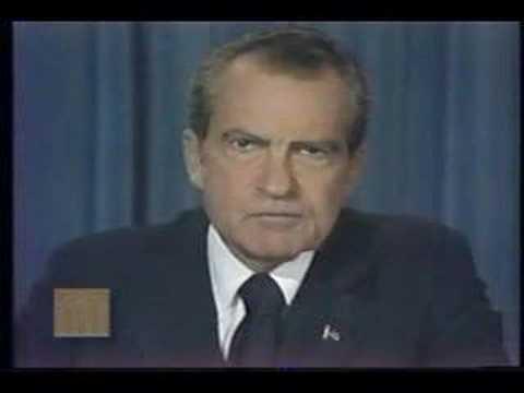 President Richard Nixon - Address Announcing Resignation