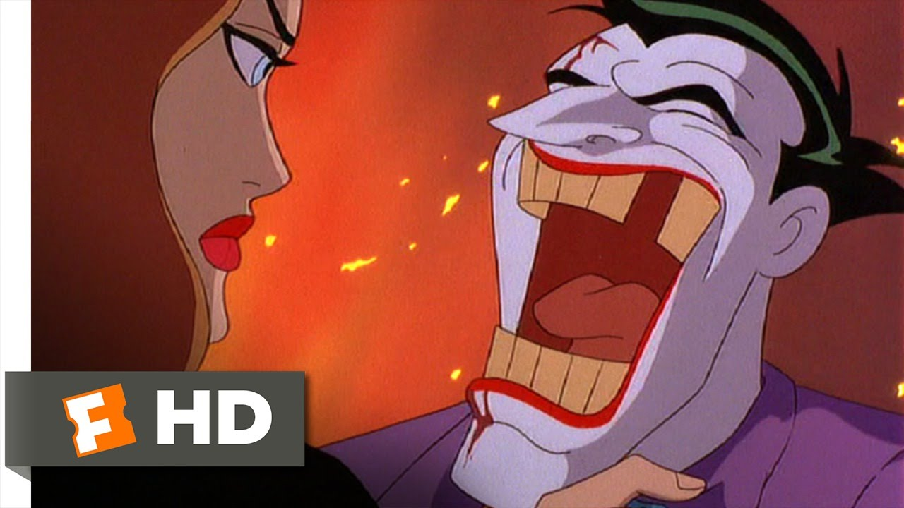 The Joker Animated Wallpaper Batman Mask Of The Phantasm 10 10 Movie Clip Goodbye