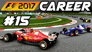 F1 2017 Career Mode Part 15: AVOIDING SPINNING FERRARIS AT MALAYSIA