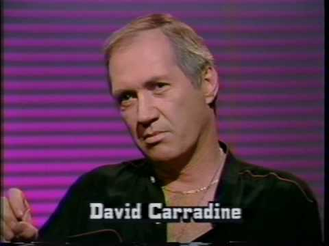 #1 1989 cable-access TV interview with David Carradine (first part of 7)