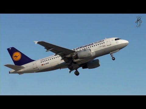 Lufthansa Italia - Airbus A319-100  D-AKNI - Takeoff from Split airport 1080p HD