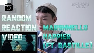 Marshmello - Happier(ft.bastille) M/V Reaction videoㅣ마시멜로 해피얼 리액션 영상ㅣ현규ㅣ[디모리액션]
