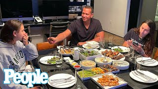 Alex Rodriguez Enjoys 'Dinner Date' with His Daughters After Jennifer Lopez Split | PEOPLE