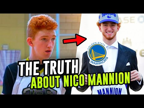 You'll Never Think Of Nico Mannion The Same Way Again. From Young Phenom To Steph Curry's Teammate