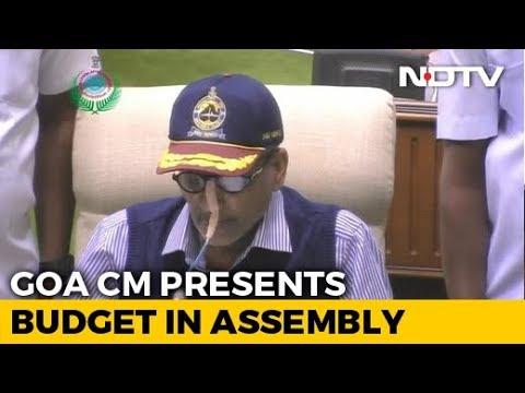 Tube In Nose, Unwell Manohar Parrikar Presents Goa Budget