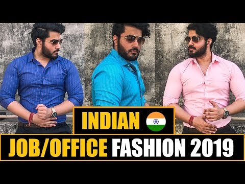 Indian Office SUMMER OUTFITS 2019 | Office Fashion GUIDE for INDIAN MEN
