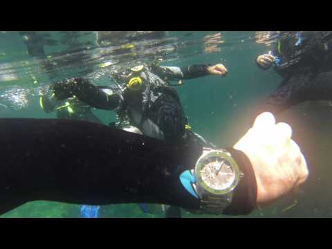 Aquis by Oris gets put through the test by Team Water Quest