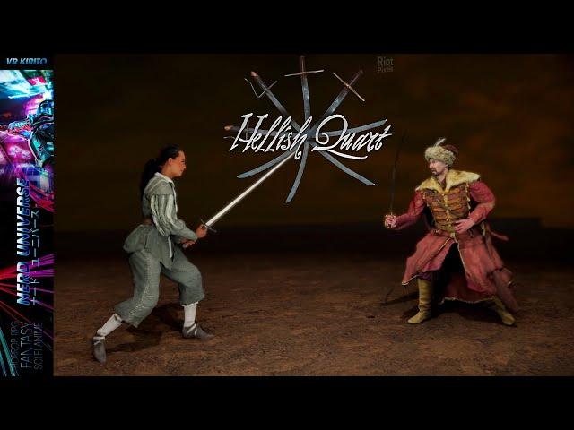 Hellish Quart - Erstcheck der Schwert-Duell Simulation ☧ Deutsch | PC