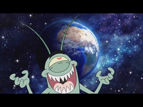 Plankton. A Thank You Would Be Nice - SpongeBob SquarePants - BBC Earth