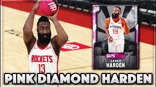 PINK DIAMOND MOMENTS JAMES HARDEN GAMEPLAY!! The BEST SCORING Point Guard In NBA 2K20 MyTEAM!!