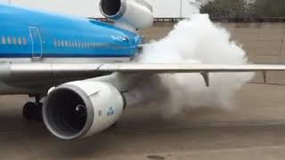KLM MD11 first engine start with new engine