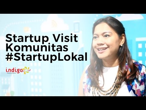 Startup Visit - Startup Lokal Community with Nuniek One of Initiator
