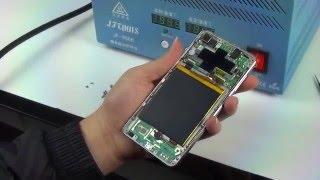 Ремонт китайского телефона Blackview Omega Pro(Разбор телефона, замена треснувшего экрана, сборка и быстрое тестирование. Примерно так работают в сервисн..., 2016-01-22T09:20:08.000Z)