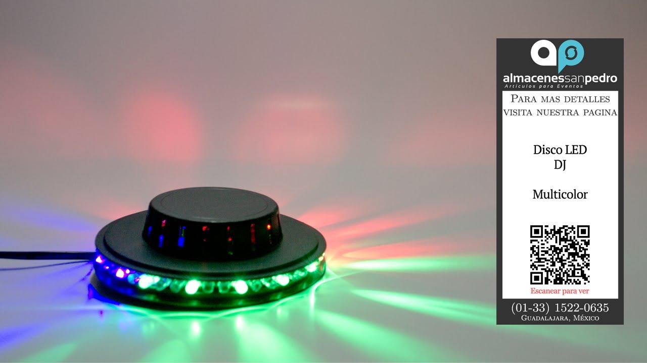 Disco DJ 48 LEDs Ilumina tu Fiesta - YouTube