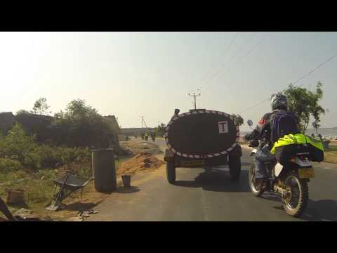 Sri Lanka motor cycle ride Jaffna to Anuradhapura