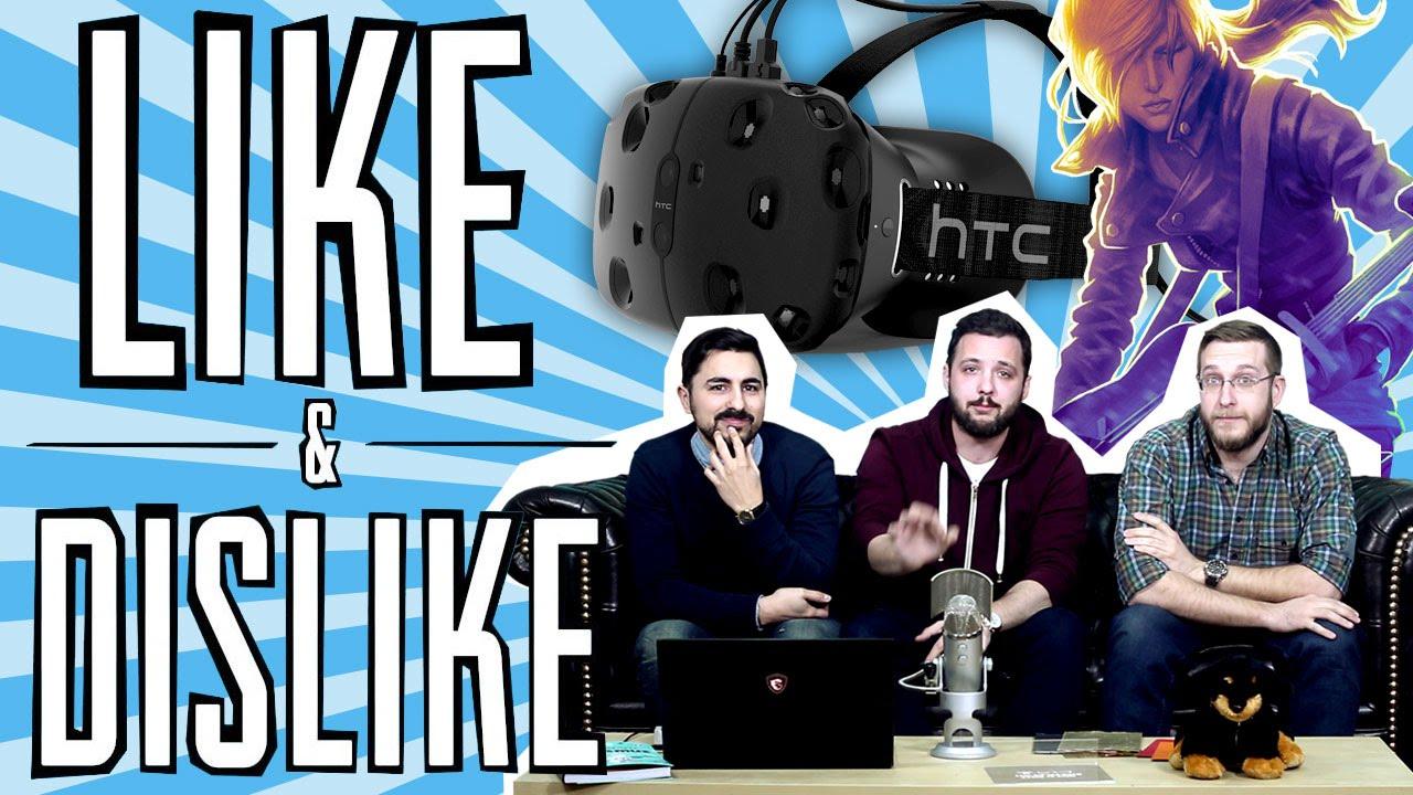 LIKE & DISLIKE: Realidad Virtual, motores gráficos, Rock Band 4, NBA 2K14...
