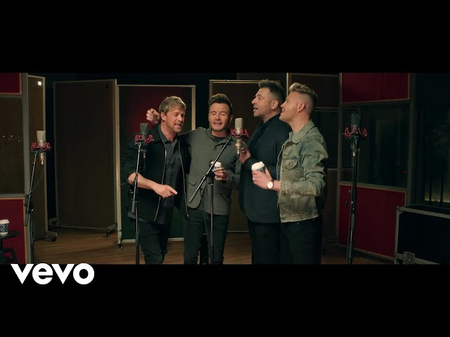 Westlife fans send Better Man to top of the charts hours after
