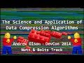 The Science and Application of Data Compression Algorithms