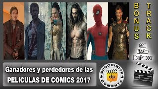 Las mejores y peores peliculas de comics y super-heroes 2017