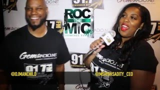 Gems Radio  The Roll Out Show Covering  2016 NYC  Roc The Mic
