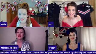 SATIN DOLLZ LIVE STREAM: Marcella Puppini