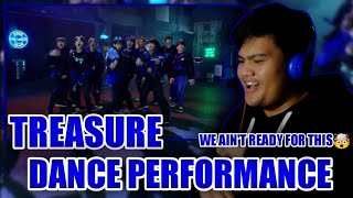Treasure : dance performance video (a$ap rocky - wild for the night) reaction   rookie of year!