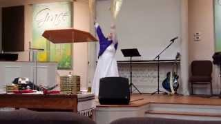"Worship Flag Dance to ""We Will Dance (For Your Glory) Remixed Soul Survivor"