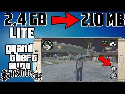 200Mb Gta San Andreas Lite with Cleo Mod || apk+data || All GPU || Proof  with Gameplay