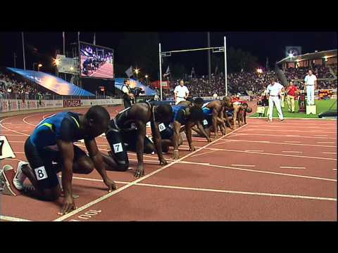 100m - Asafa Powell - 9.72 - Lausanne 2008